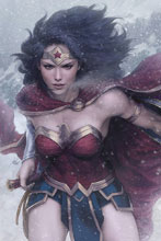 Image: Wonder Woman #51 (DFE signed - Orlando) (variant cover - Artgerm Lau) - Dynamic Forces