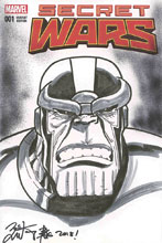 Image: Thanos  (DFE Sketch & signed - Brian Kong) - Dynamic Forces