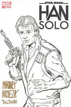 Image: Star Wars: Han Solo #1 (DFE signed - Nicieza & Delbeato) - Dynamic Forces