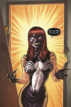 Image: Venom #1 (variant DFE cover - Quinones Venom Mary Jane Sketch) - Dynamic Forces