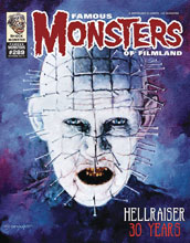 Image: Famous Monsters of Filmland #289 (variant cover - Pinhead) - Famous Monsters of Filmland