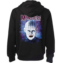 Image: Pinhead Hoodie  (L) - Famous Monsters of Filmland