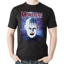 Image: Pinhead T-Shirt  (M) - Famous Monsters of Filmland