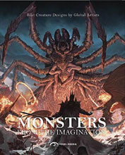 Image: Monsters of the Imagination: Best Creature Designs SC  - Gingko Press