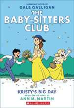Image: Baby Sitters Club Color Edition Vol. 06: Kristys Big Day HC GN  - Graphix