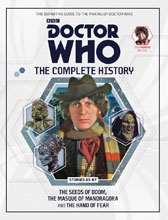 Image: Doctor Who Complete History Vol. 77: 4th Doctor Stories 85-87 HC  - Hachette Partworks