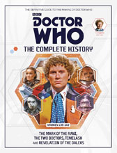 Image: Doctor Who Complete History Vol. 79: 6th Doctor Stories 139 - 142 HC  - Hachette Partworks