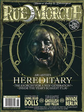Image: Rue Morgue Magazine #183 - Marrs Media Inc