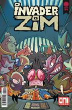 Image: Invader Zim #34 (cover A - Fred Stresing, Warren Wucinich) - Oni Press Inc.