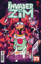 Image: Invader Zim #34 (cover B - Mosley) - Oni Press Inc.