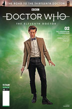 Image: Doctor Who: The Road to the 13th Doctor - 11th Doctor Special #2 (cover B - Photo) - Titan Comics
