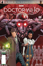 Image: Doctor Who: The Road to the 13th Doctor - 11th Doctor Special #2 (cover C - Qaulano) - Titan Comics