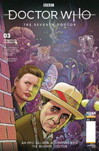 Image: Doctor Who: The 7th Doctor #3 (cover A - Jones) - Titan Comics