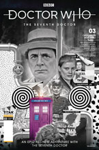 Image: Doctor Who: The 7th Doctor #3 (cover B - Photo) - Titan Comics