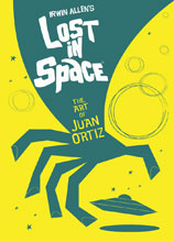 Image: Lost in Space: Art of Juan Ortiz HC  - Titan Books