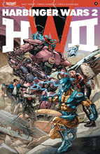 Image: Harbinger Wars 2 #4 (cover A - Jones) - Valiant Entertainment LLC