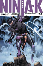 Image: Ninja-K #10 (New Arc) (cover B - Stroman) - Valiant Entertainment LLC