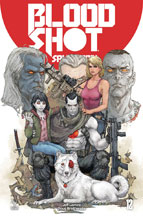 Image: Bloodshot Salvation #12 (cover A - Rocafort) - Valiant Entertainment LLC