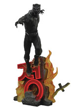 Image: Marvel Premier Statue: Black Panther Movie  - Diamond Select Toys LLC