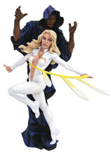 Image: Marvel Gallery PVC Statue: Cloak & Dagger  (Comic) - Diamond Select Toys LLC