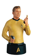 Image: Star Trek Bust Collectible #1 (Captain Kirk) - Eaglemoss Publications Ltd