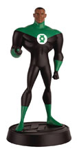 Image: DC Justice League The Animated Series Figure Collectible Series 1 #3 (Green Lantern) - Eaglemoss Publications Ltd