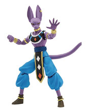Image: Dragonball Super Dragon Stars Action Figure Beerus Solid Pk Case  - Bandai America