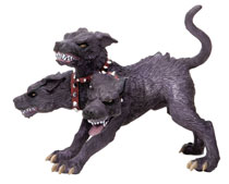 Image: Safari Table Top Figurine: Cerberus  - Safari Ltd.