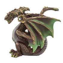 Image: Safari Table Top Figurine: Thorn Dragon  - Safari Ltd.