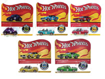 Image: Hot Wheels 50th Anniversary Die-Cast Promo Car Assortment  - Mattel Toys