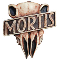 Image: Judge Dredd Prop Replica: Judge Mortis Badge  (1:1) - Diamond Comic Dist--England
