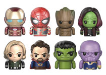 Image: Avengers: Infinity War Ser1 Finger Puppet 14-Piece Blind Mystery Box Display  - Comicave Toys Lcc