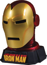 Image: Marvel Desk Accessory: Iron Man Helmet  - Gentle Giant Studios