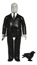 Image: Hitchcock Reaction Figure  (Grayscale) - Super 7