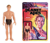 Image: Planet of the Apes Reaction Figure: Taylor  - Super 7