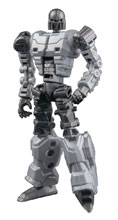 Image: Unrustables MM-04 Transforming Action Figure: Prospect White  - Maas Toys And Collectibles Ltd
