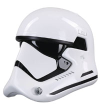 Image: Star Wars: 8 1st Order Helmet Replica: Stormtrooper  (Premium version) - Anovos Productions, LLC
