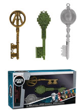Image: Ready Player One Copper Key / Jade Key / Crystal Key 3-Pack  - Funko