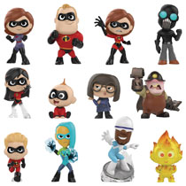 Image: Mystery Minis Incredibles 2 12-Piece Blind Mystery Box Display  - Funko