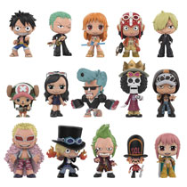 Image: Mystery Minis One Piece 12-Piece Blind Mystery Box Display  - Funko
