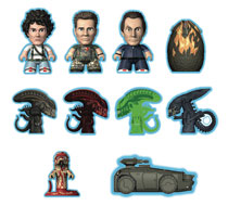 Image: Aliens Game Over Collection Titans Mini Figure 18-Piece Blind Mystery Box Display  - Titan Books Uk