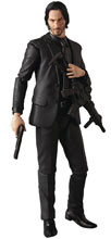 Image: John Wick Mafex Action Figure  - Medicom Toy Corporation