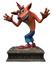 Image: Crash Bandicoot Resin Statue: Crash  (16-inch) - First 4 Figures
