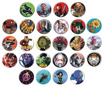 Image: Avengers: Infinity War 144-Piece Button Assortment  - Ata Boy