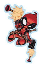 Image: Marvel Heroes Vinyl Decal: Deadpool - Skottie Young  - Elephant Gun, LLC