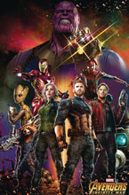 Image: Avengers: Infinity War Movie - Framed Poster Print  (11x17) - Pyramid America, Lp