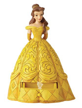 Image: Disney Traditions Figure: Belle  (with Chip Charm) - Enesco Corporation