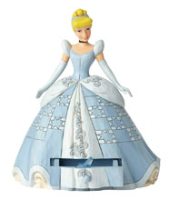 Image: Disney Traditions Figure: Cinderella  (with Shoe Charm) - Enesco Corporation