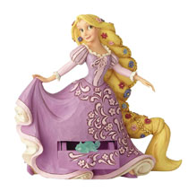 Image: Disney Traditions Figure: Rapunzel  (with Pascal Charm) - Enesco Corporation