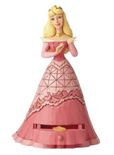 Image: Disney Traditions Figure: Sleeping Beauty  (with Tiara Charm) - Enesco Corporation